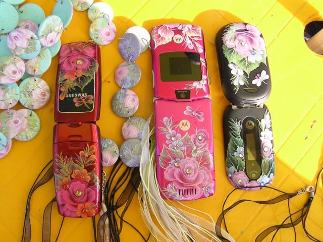 Роспись по мобильному телефону